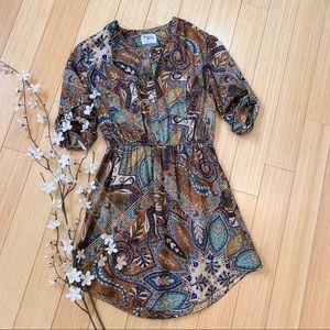 Anthropologie Holding Hoses Paisley Dress, 6.